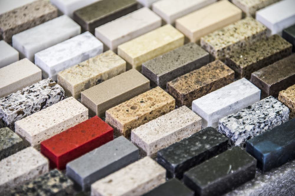 Selecting granite colors for your home